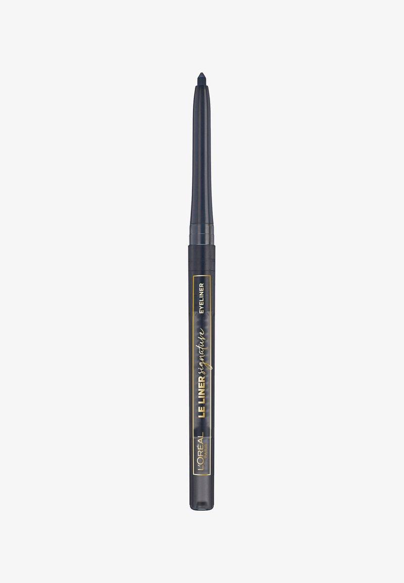 L'Oréal Paris - LE LINER SIGNATURE - Eyeliner - taupe grey tweed