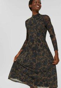 Esprit Collection - AUSGESTELLTES  - Day dress - dark brown - 0