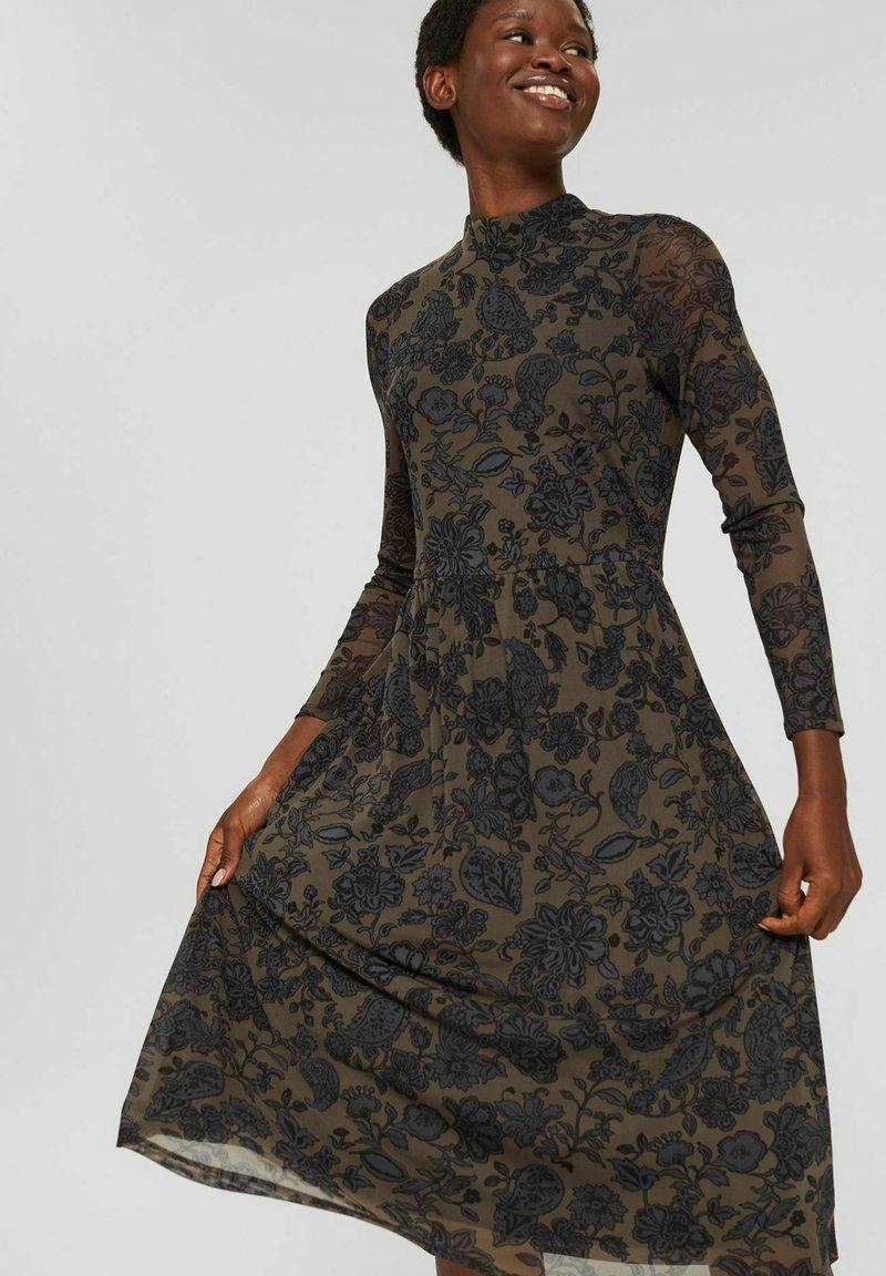 Esprit Collection - AUSGESTELLTES  - Day dress - dark brown
