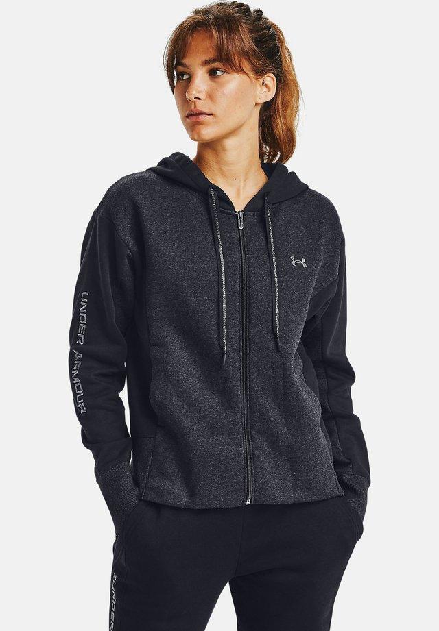 RIVAL - Zip-up hoodie - black medium heather
