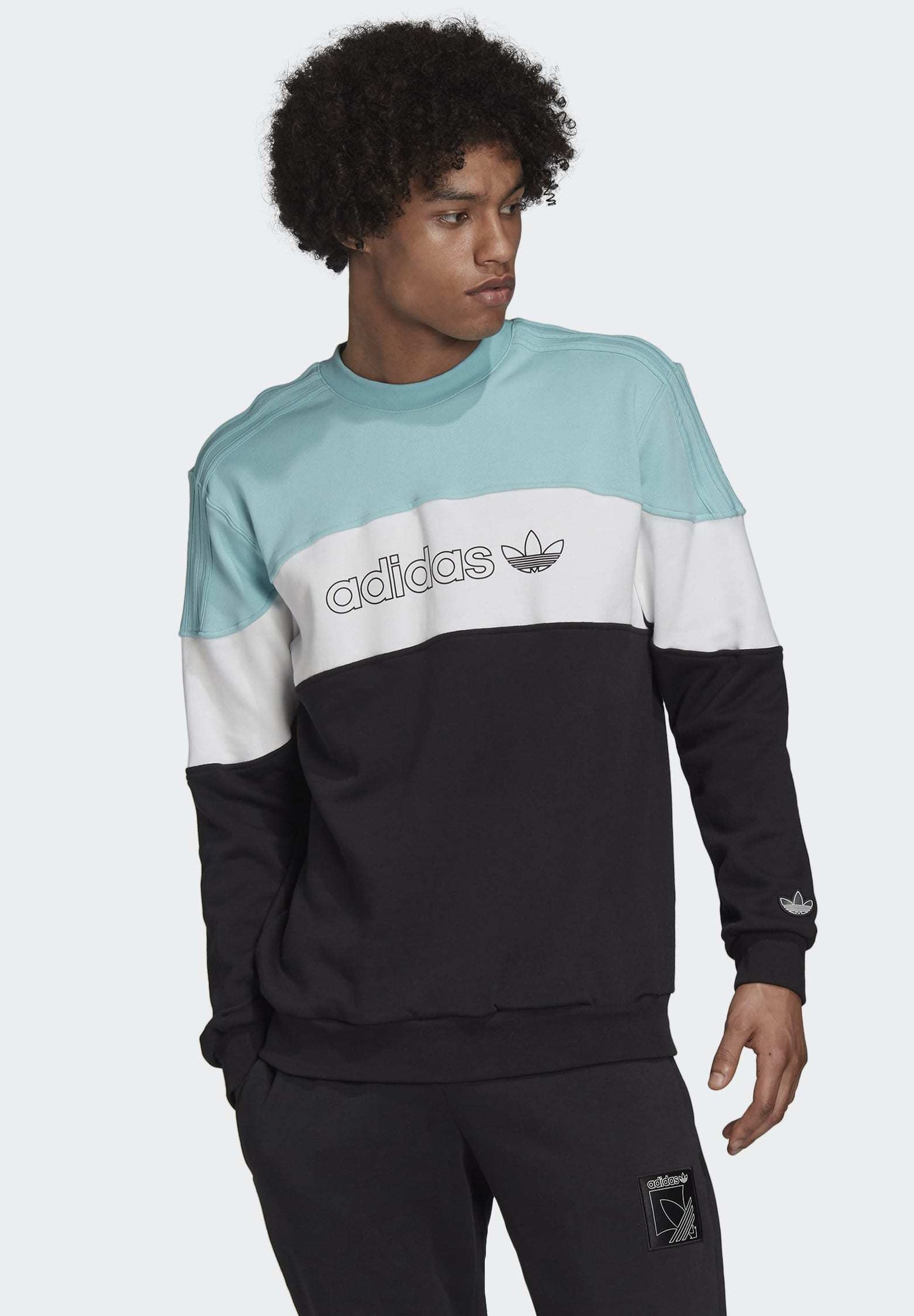 adidas Originals Polo Sweatshirt Night Indigo