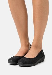 Skechers - ARYA - Ballet pumps - black - 0