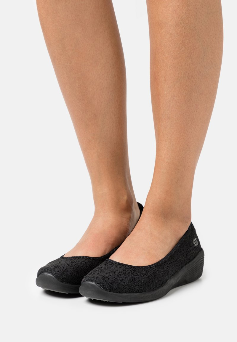 Skechers - ARYA - Ballet pumps - black