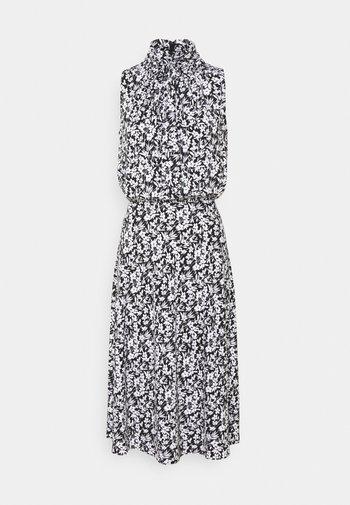 FERIKO SLEEVELESS CASUAL DRESS - Day dress - black/white