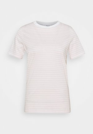 SFMY PERFECT TEE BOX CUT - Print T-shirt - primrose pink/snow white