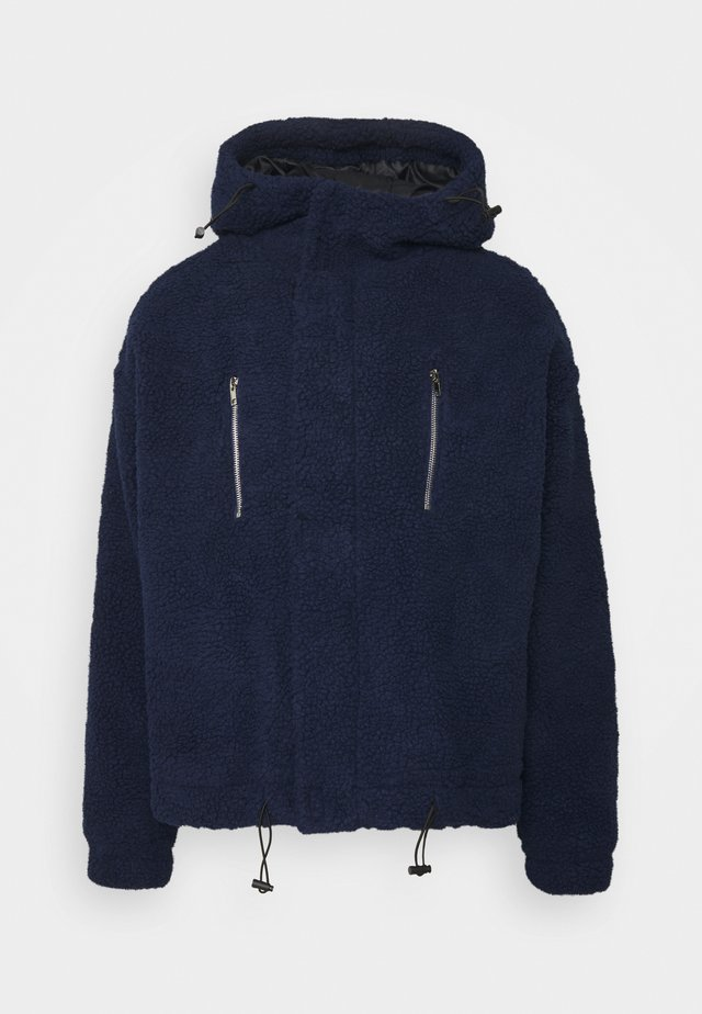 SHADOW BORG HOODIE UNISEX - Winter jacket - navy