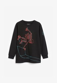Next - SKATING SKELETON  - Long sleeved top - black - 0