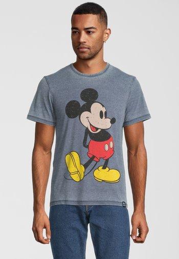 DISNEY MICKEY MOUSE CLASSIC POSE - Print T-shirt - blau