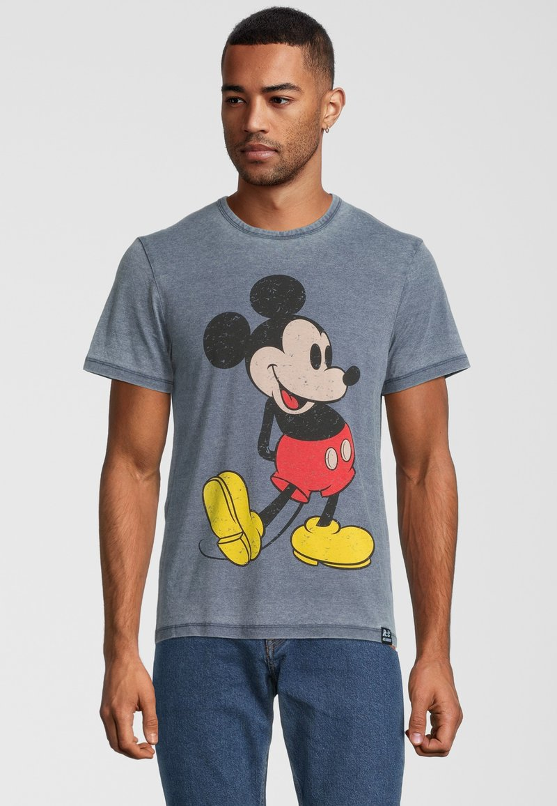 Re:Covered - DISNEY MICKEY MOUSE CLASSIC POSE - Print T-shirt - blau