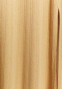sandro - Maxi dress - beige - 2