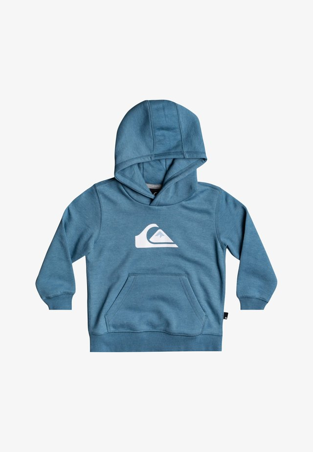 BIG LOGO - Hoodie - captains blue heather