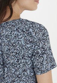 Fransa - Day dress - cashmere blue mix - 3
