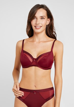VIVA LUXE UNDERWIRED BRA - Underwired bra - deep red