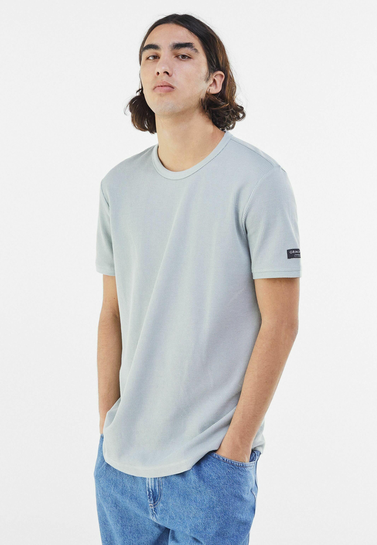 Herrer WAFFELSTRUKTUR - T-shirts basic