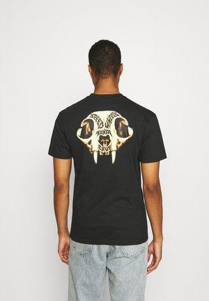 SKULL UNISEX - Print T-shirt - black