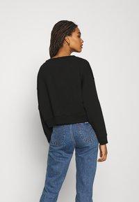 Tommy Jeans - SOFT V NECK - Sweatshirt - black - 2
