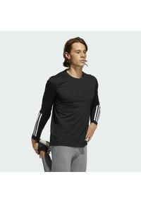 adidas Performance - Long sleeved top - black - 3
