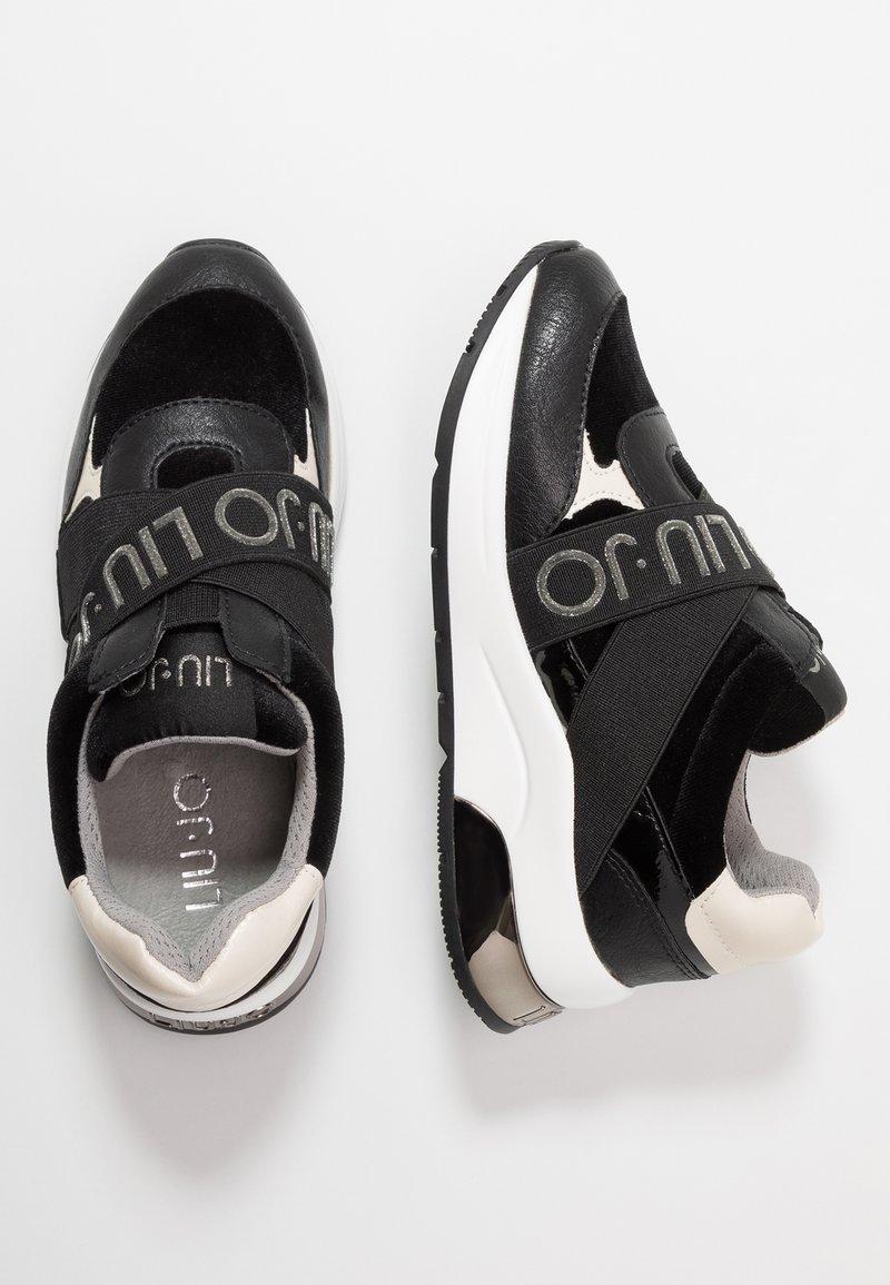 LIU JO - KARLIE - Nazouvací boty - black