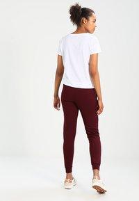 New Look - BASIC BASIC  - Pantaloni sportivi - dark burgundy - 2