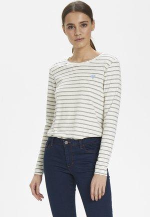 LIDDY - T-shirt à manches longues - chalk / 50015 grey melange