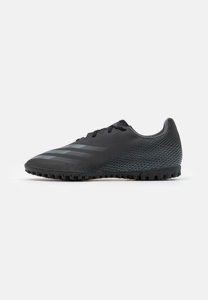 X GHOSTED.4 FOOTBALL BOOTS TURF - Fodboldstøvler m/ multi knobber - core black/grey six