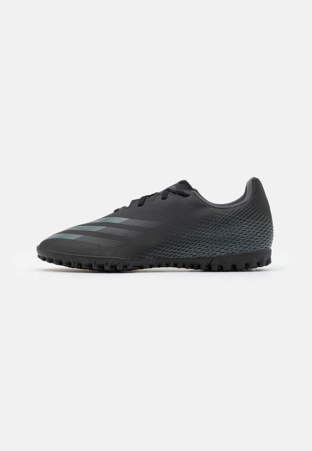 X GHOSTED.4 FOOTBALL BOOTS TURF - Voetbalschoenen voor kunstgras - core black/grey six