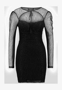 Fashion Union - CECILLE - Koktejlové šaty/ šaty na párty - black - 3