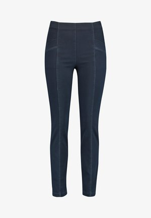 Jeggings - dark blue denim