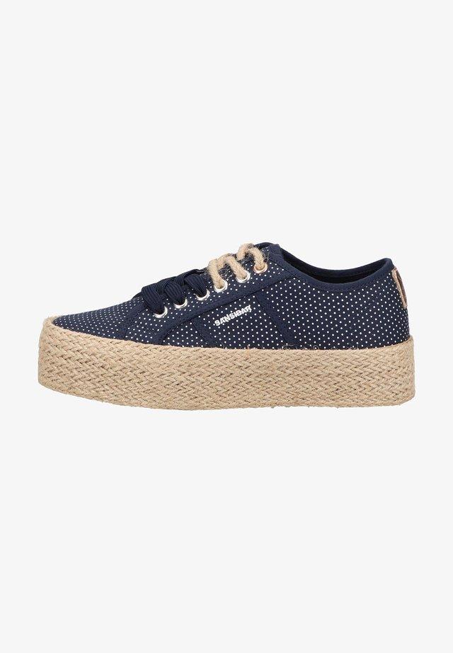 Sneakers laag - dunkelblau