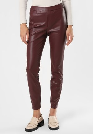 TASLIMA - Pantalon classique - aubergine