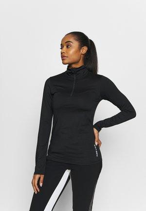 MARGO - Long sleeved top - black