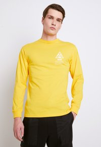 Vans - MN 66 SUPPLY LS - Print T-shirt - lemon chrome - 0