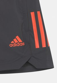 adidas Performance - UNISEX - Urheilushortsit - mottled dark grey/orange - 2