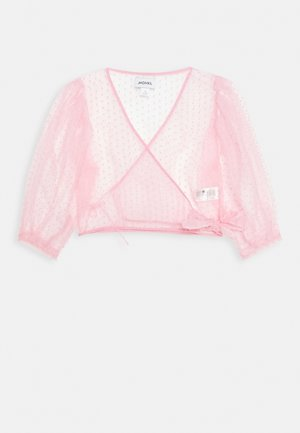 OLIVIA BLOUSE - Blůza - light pink organza