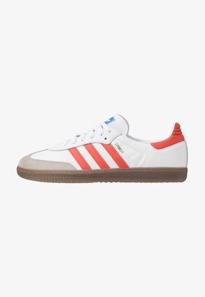 SAMBA - Trainers - footwear white/trace scarlet/clear granite