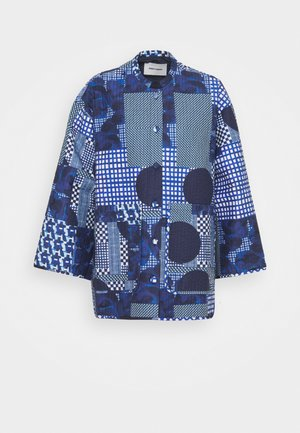 PIPETTE QUILTED JACKET - Summer jacket - blue