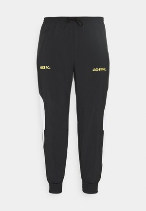 FC PANT - Tracksuit bottoms - black/white/saturn gold