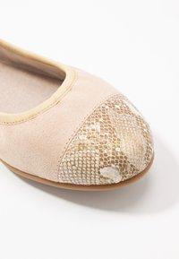 s.Oliver - Ballet pumps - nude - 2