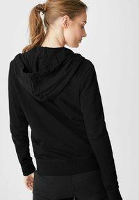 C&A - Zip-up sweatshirt - black - 1