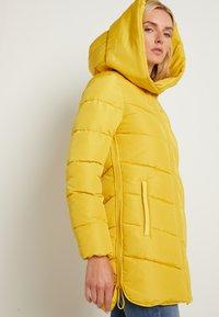 TOM TAILOR - WINTERLY PUFFER COAT - Winter coat - california sand yellow - 5