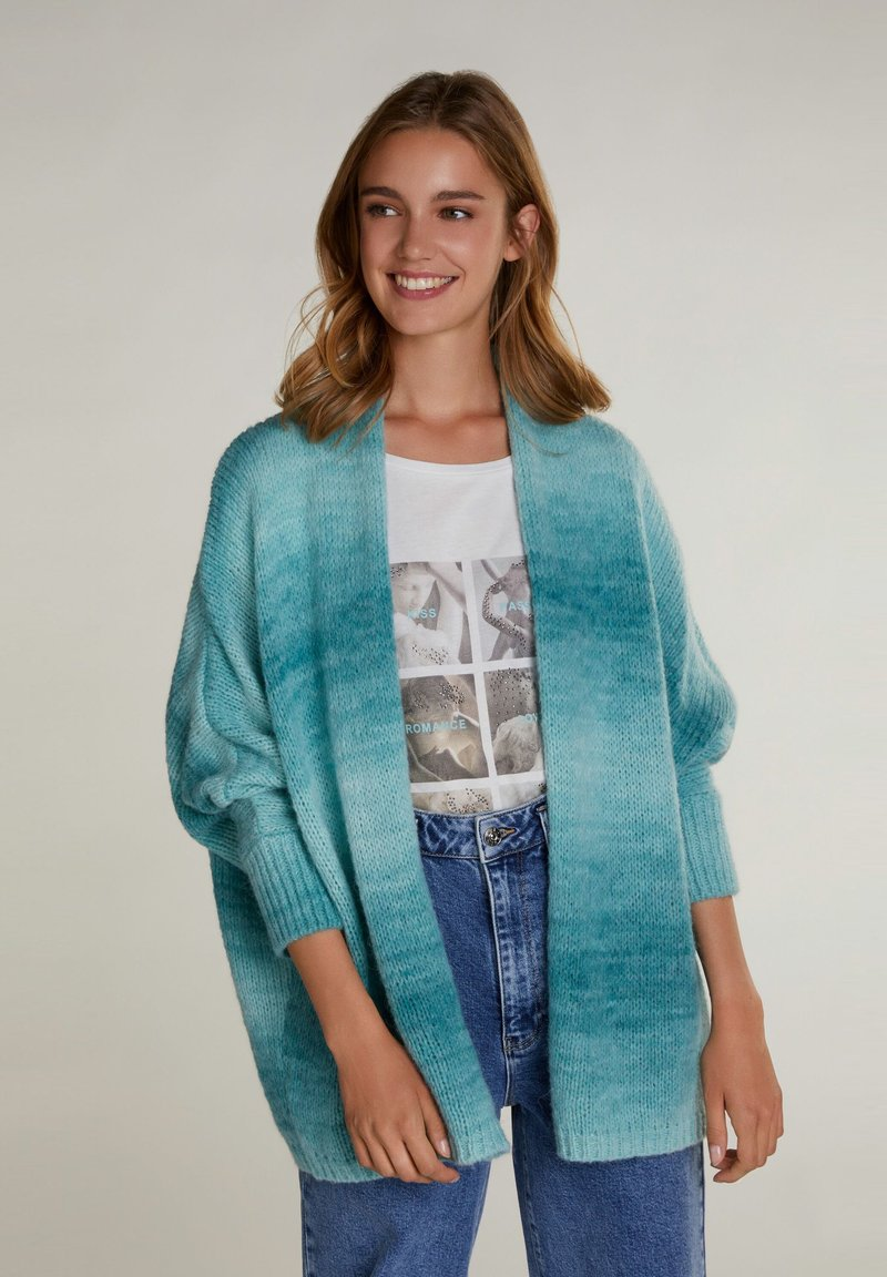 Oui - Cardigan - light green gre