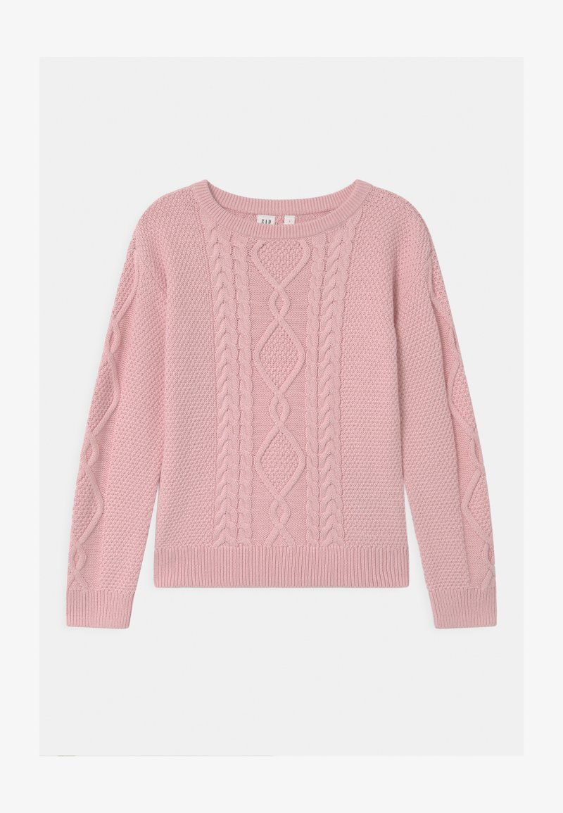 GAP - GIRL CABLE - Jumper - pure pink