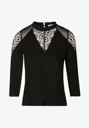 TISHIR - Long sleeved top - black