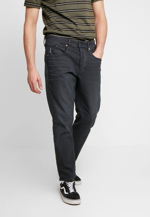 LOIC RELAXED TAPERED - Relaxed fit jeans - pite stretch raven