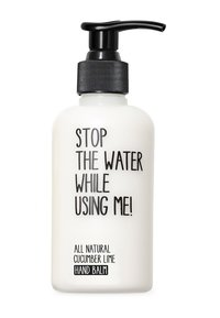 STOP THE WATER WHILE USING ME! - ALL NATURAL HAND KIT SOAP 200ML & HANDBALM 200ML - Bad- & bodyset - cucumber lime - 2