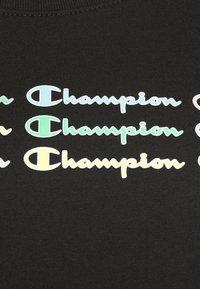 Champion - CREWNECK - T-shirts med print - black - 5