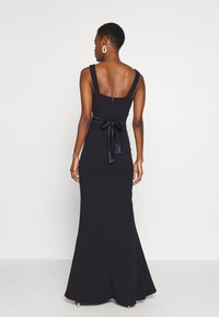WAL G TALL - V NECK RUBAN MAXI DRESS - Occasion wear - navy - 2