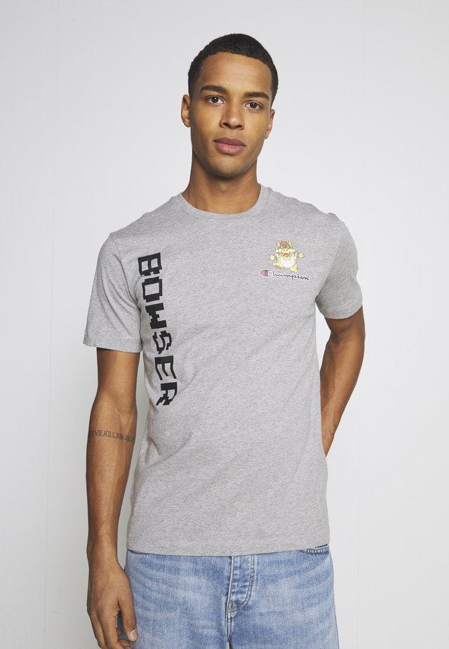 CREWNECK NINTENDO - T-shirt print - mottled grey