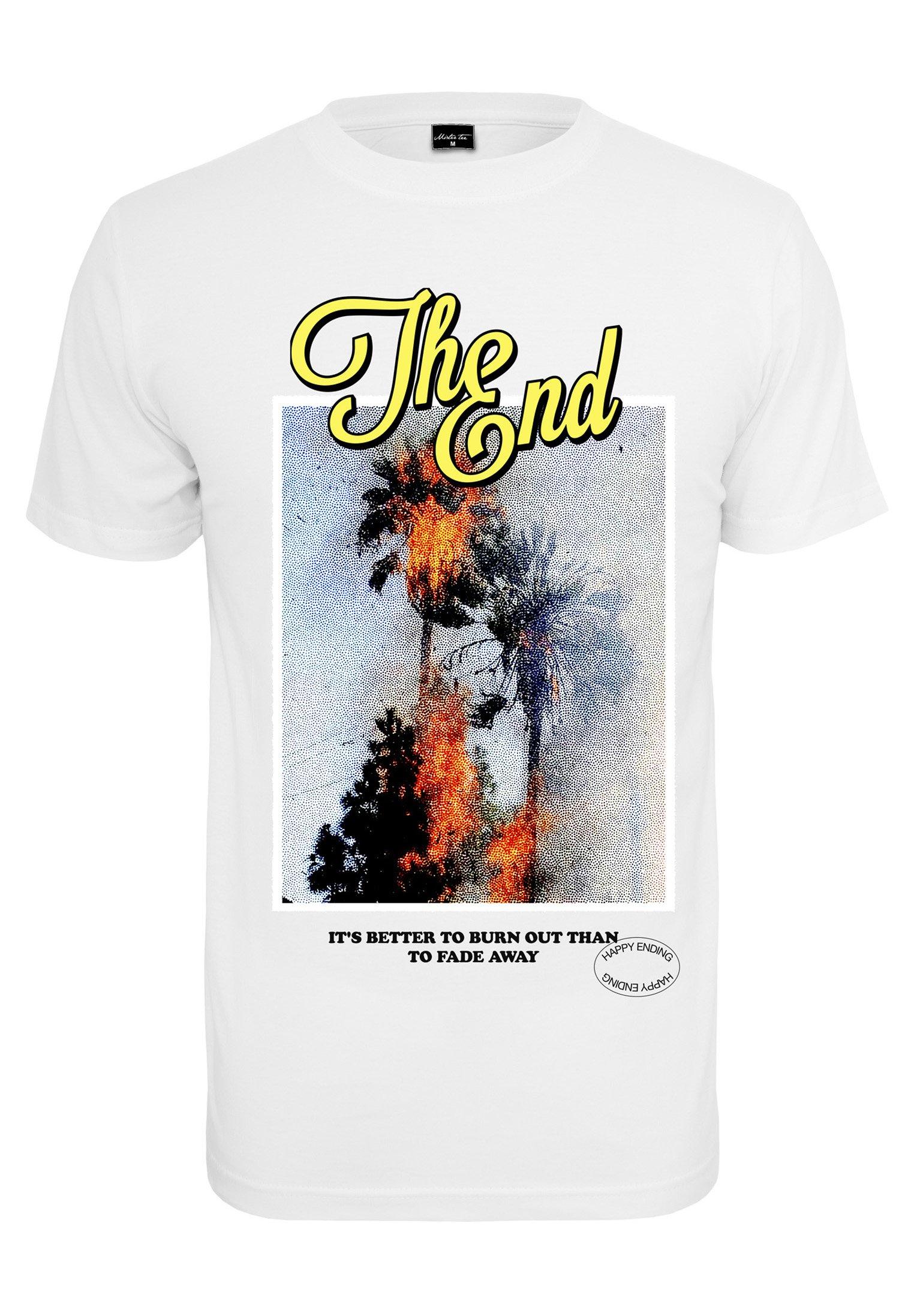 Homme THE END  - T-shirt imprimé