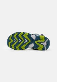 Friboo - LEATHER - Walking sandals - dark blue - 4